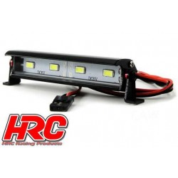 HRC8726-4 Set d'éclairage - 1/10 ou Monster Truck - LED - Prise JR - Block de toit Multi-LED - 4 LEDs