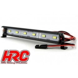HRC8726-6 Set d'éclairage - 1/10 ou Monster Truck - LED - Prise JR - Block de toit Multi-LED - 6 LEDs