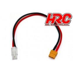 HRC9611 Câble de charge - doré - Prise chargeur XT60 à Tamiya