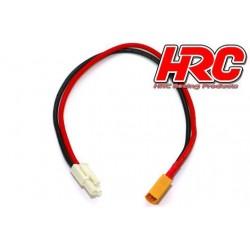 HRC9612 Câble de charge - doré - Prise chargeur XT60 à Mini Tamiya