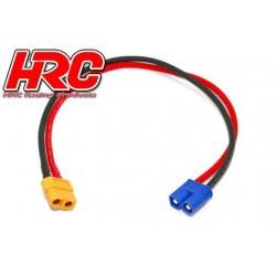 HRC9613 Câble de charge - doré - Prise chargeur XT60 à EC3