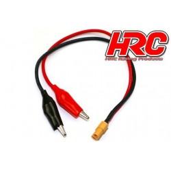 HRC9619 Câble de charge - doré - Prise chargeur XT60 à Crocodile