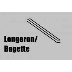 LB44 Longeron BALSA 1000 x 4 x 4 mm