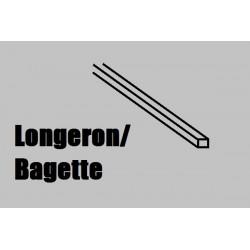 LB66 Longeron BALSA 1000 x 6 x 6 mm