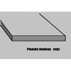 CTP412 (3)plex BOULEAU 1000x500x1.2 mm