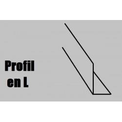 759922 AE Profilé NOYER L1000x2x2mm