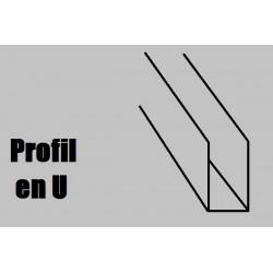 759933 AE Profilé NOYER U1000x3x3mm