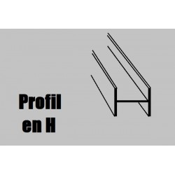 759954 AE Profilé NOYER H1000x4x4mm