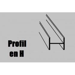759994 AE Profilé NOYER H1000x5x3mm