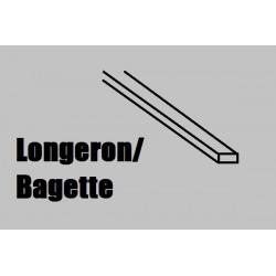 LS291 COREL Longeron tilleul noir 1 x 2mm