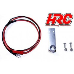 HRC8744S Set d'éclairage - 1/10 TC/Drift - LED - Tube d'échappement avec LED – Simple
