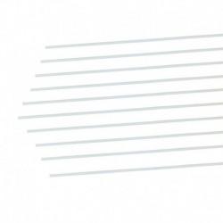 G-Force RC - Vis à tête bombée auto-taraudeuse, 3,5X6,5, Acier galvanisé (10pcs)