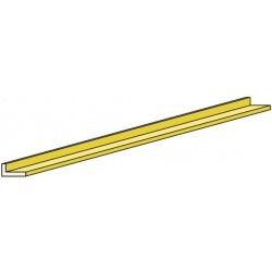 PROL2515 Profilé L 1000 x 2.5 x 1.5 mm