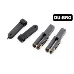 DUB878 Pièce d'avion - Articulation Heavy Duty (.40-.91 ) - pour tringle 1mm (2/56) (2 pces)