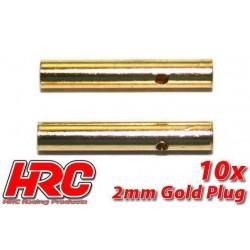 HRC9002F Connecteur - Gold - 2.0mm - femelle (10 pces)