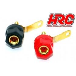 HRC9004B Connecteur - 4.0mm gold - Box Output Style - femelle (2 pces)