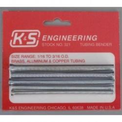 KS321 Plieur de tubes max. 4.7 mm