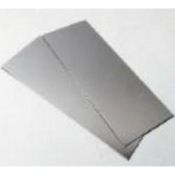 KS255 Tôle ALU 102x254x0.4 mm ( 6)