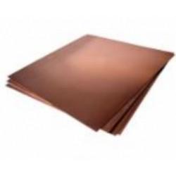 KS277 .016 Feuille de cuivre 10,16x25,4x0,04064( 3)