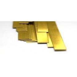KS5078 Bandes en laiton de métaux pliables.32x1 / 4x304,8mm