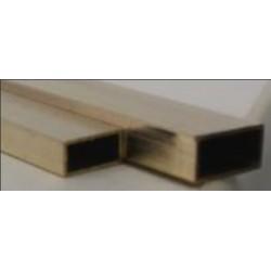 KS8264 Tube LAITON rect.305x3.2 x6.4mm( 1)