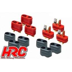 HRC9030P Connecteur - Gold - Ultra T avec protection - male & femelle (3 pces de chaque)