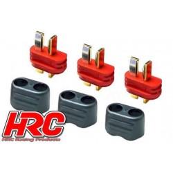 HRC9031P Connecteur - Gold - Ultra T avec protection – mâle (3 pces)