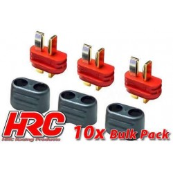 HRC9031PB Connecteur - Gold - Ultra-T avec protection – mâle (10 pces)