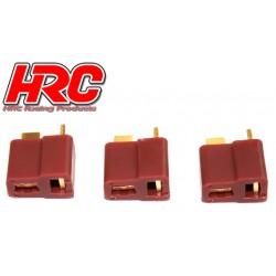 HRC9032A Connecteur - Gold - Ultra T - femelle (3 pces)