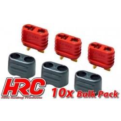 HRC9032PB Connecteur - Gold - Ultra-T avec protection - femelle (10 pces)