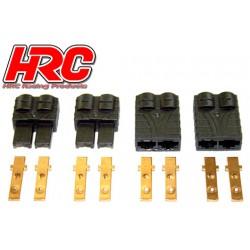 HRC9041 Connecteur - Gold - TRX (2 paires)