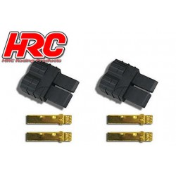 HRC9042A Connecteur - Gold - TRX – mâle (2 pces)
