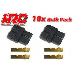 HRC9042B Connecteur - Gold - TRX – mâle (10 pces)