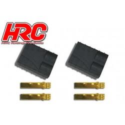HRC9043A Connecteur - Gold - TRX - femelle (2 pces)