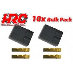 HRC9043B Connecteur - Gold - TRX - femelle (10 pces)