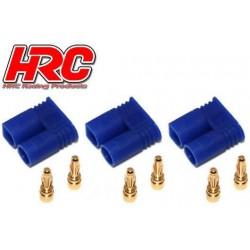 HRC9050A Connecteur - Gold - EC2 – mâle (3 pces)