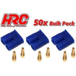 HRC9050C Connecteur - Gold - EC2 – mâle (50 pces)