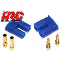 HRC9050P Connecteur - Gold - EC2 – mâle + femelle (1 paire)