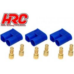 HRC9052A Connecteur - Gold - EC3 – mâle (3 pces)