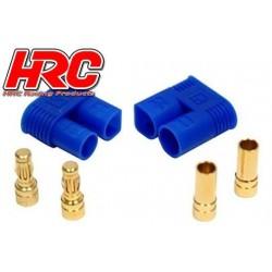 HRC9052P Connecteur - Gold - EC3 – mâle + femelle (1 paire)