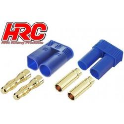 HRC9058P Connecteur - Gold - EC5 – mâle + femelle (1 paire)