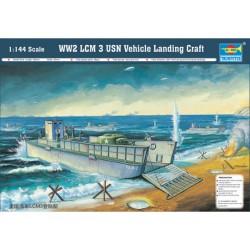 TRU00102 TRUMPETER WW2 LCM 3 USN Land. 1/144