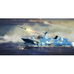 TRU00108 TRUMPETER PLA NAVY Type 22 Missile Boat 1/144