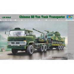 TRU00201 TRUMPETER Chin.50Ton Transport 1/35