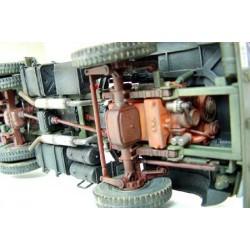 HRC34Y6045CB FPV Racing Propellers - 3-blades - PC Material - 6045 Type - ID M5 / 7mm Hub - 2x CW + 2x CCW - Clear Blue