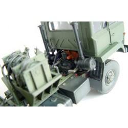 HRC34Y6045CG FPV Racing Propellers - 3-blades - PC Material - 6045 Type - ID M5 / 7mm Hub - 2x CW + 2x CCW - Clear Green