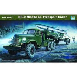 TRU00205 TRUMPETER HQ-2 MISSILE&L.CABIN 1/35