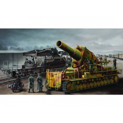 TRU00209 TRUMPETER Karl on railway 1/35
