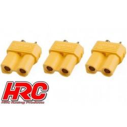 HRC9091A Connecteur - Gold - XT30 - femelle (3 pces)