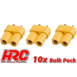 HRC9091B Connecteur - Gold - XT30 - femelle (10 pces)